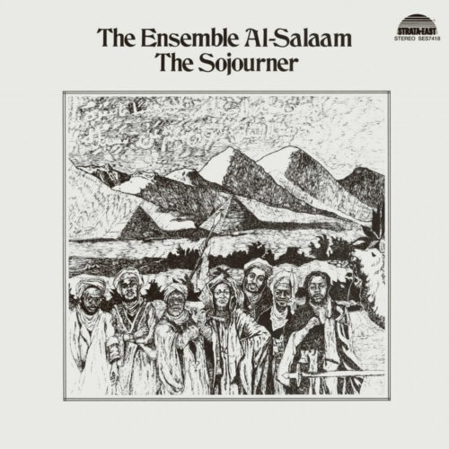 The Ensemble Al-Salaam The Sojourner P-Vine Records LP, Reissue Vinyl