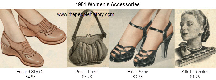 Fashion Accessories Examples From 1951