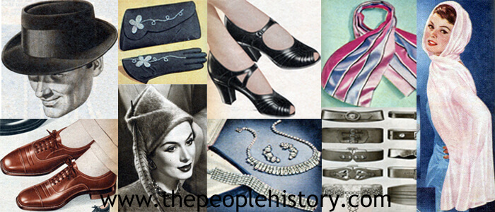 Fashion Accessory Examples From 1957