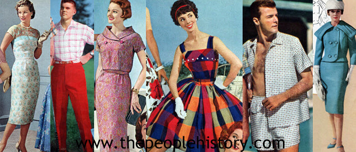Women's Fashion Clothing Examples From 1959