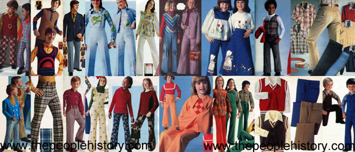Children's Clothing Examples From The 1970s