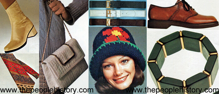 Fashion Accessories Examples From 1973