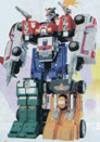 Power Rangers Deluxe Double Morphing Rescue Megazord