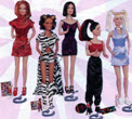 Spice Girls Doll Set