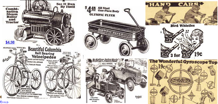 Kids Toy Examples From The 1920s