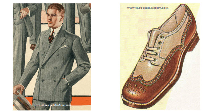 The 1920's Mens Clothing Examples