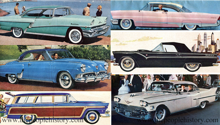 Cars Examples From The 1950s