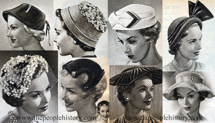 Examples of Ladies Shoes From The 50's