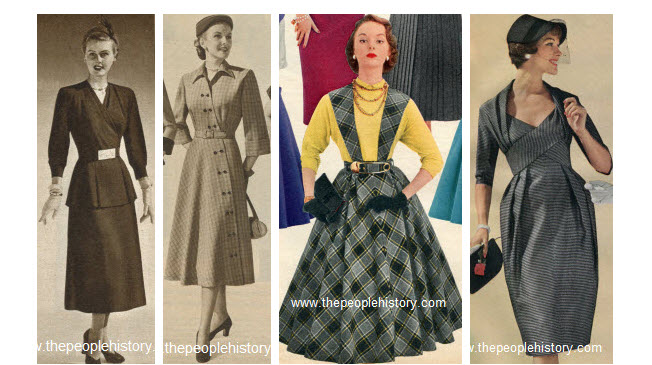 Clothes And Men 39 S And Ladies Fashions In The 1950 39 S Prices