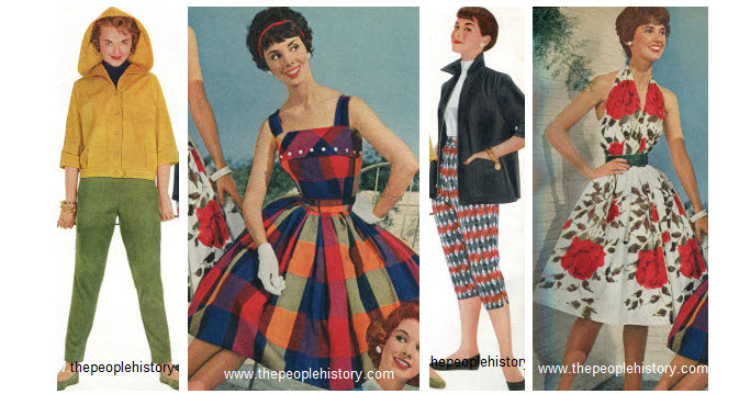 What was the fashion in 1950s 34