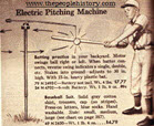 Vintage Electric Pitching Machine