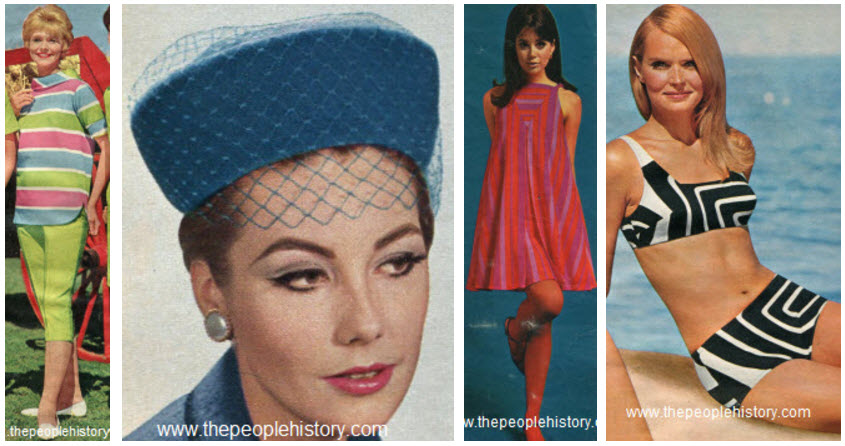 Clothes And Men S And Ladies Fashions In The 1960 S Prices And Examples