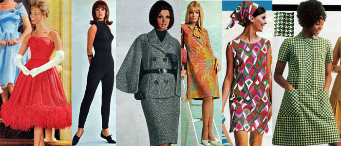 What happened in the 1960s inc news popular culture Mad style fashion life trend