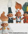 Vintage 1960s Troll Dolls