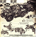 GI Joe Land Vehicles