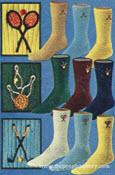 Sport Emblem Socks