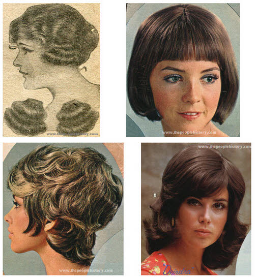 Hairstyles and Wigs Examples
