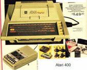 Atari 400 Home Computer System (Came Out In 1979)