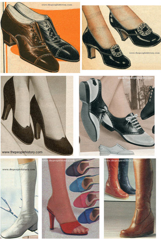 Shoes and Boots Examples