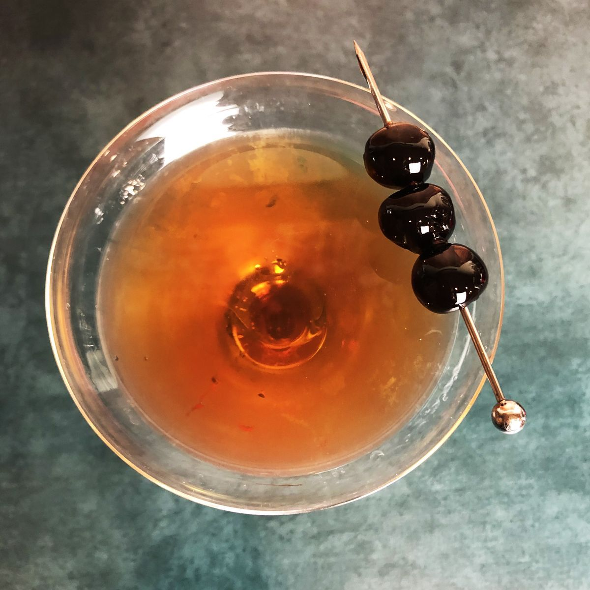 It's like a Manhattan, but it's made with Scotch instead of American Whiskey. Whiskey and vermouth, a match made in heaven. Or its closest annex, the Waldorf Astoria hotel bar.