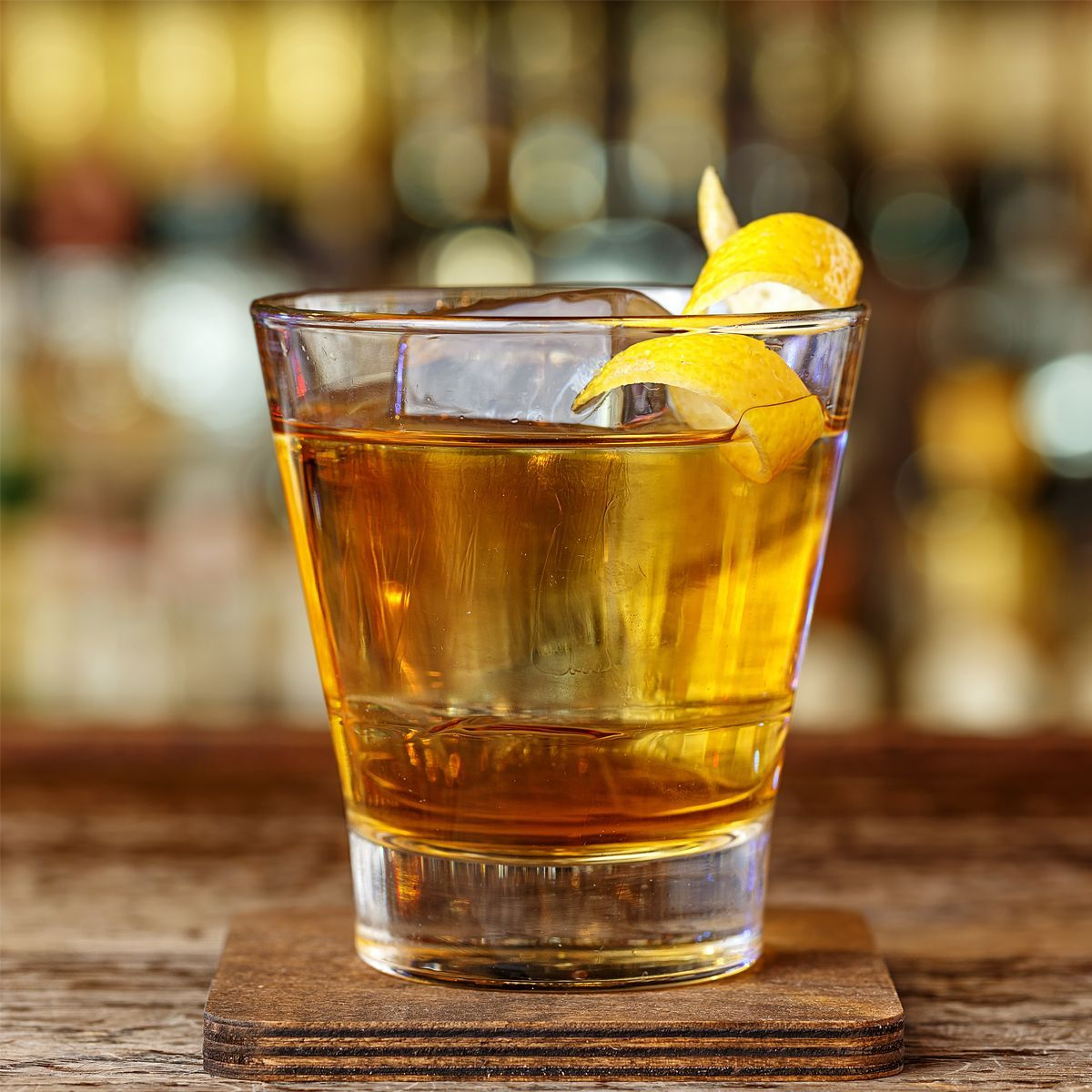 A variation on the classic Manhattan with Bénédictine in place of vermouth and especially delicious when served on the rocks, rather than up, as Manhattans usually are.