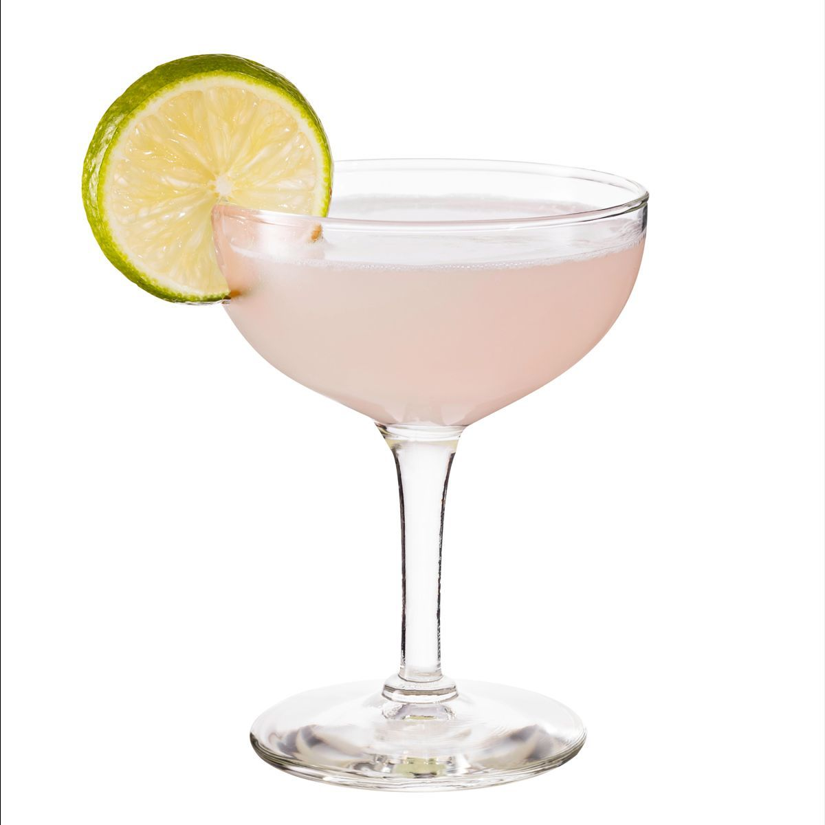 While there are several different recipes called the White Lion, this version, modeled on David Embury's, is a White Lady without egg white and with lime instead of lemon.