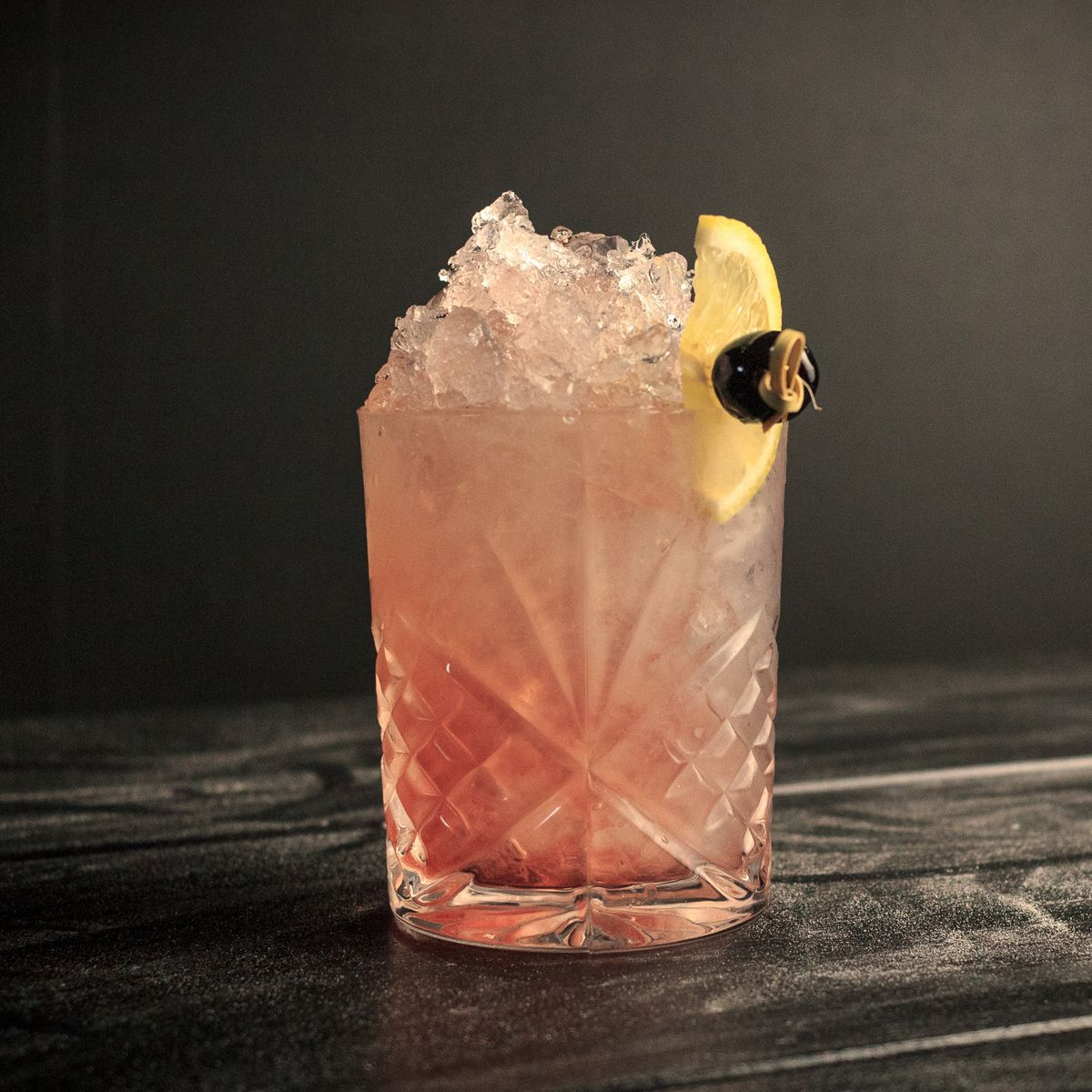 A classic tiki cocktail, the Western Sour originated at Crane's Kon-Tiki, a chain of restaurants found in Sheraton Hotels during the mid-century competing directly with Trader Vic's. This recipe features Rye Whiskey, fresh grapefruit, fresh lime, falernum, and simple syrup.