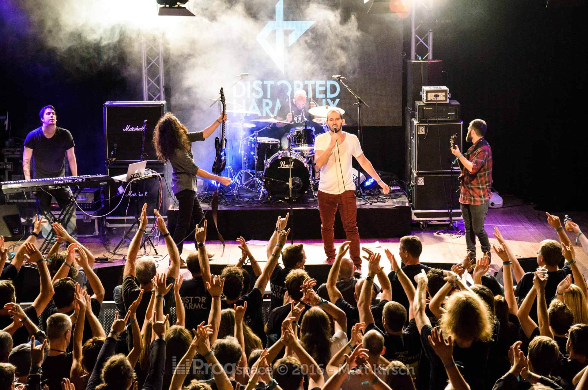 Distorted Harmony at ProgPower Europe 2016