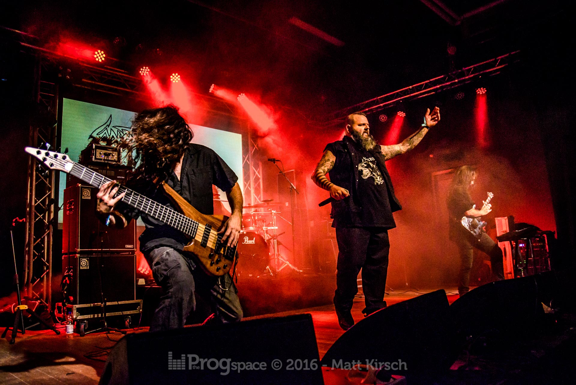Sadist at ProgPower Europe 2016