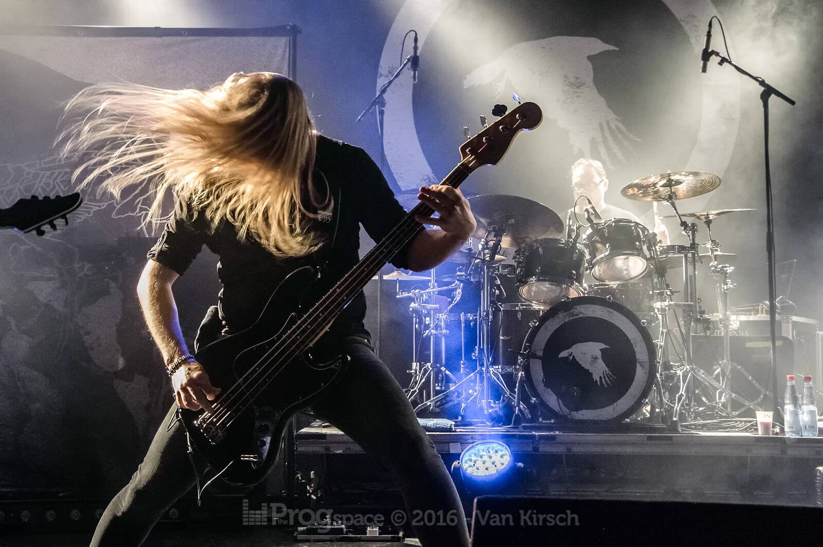 Fallen Hearts of Europe 2016: Katatonia with Vola and Agent Fresco at Markthalle, Hamburg.
