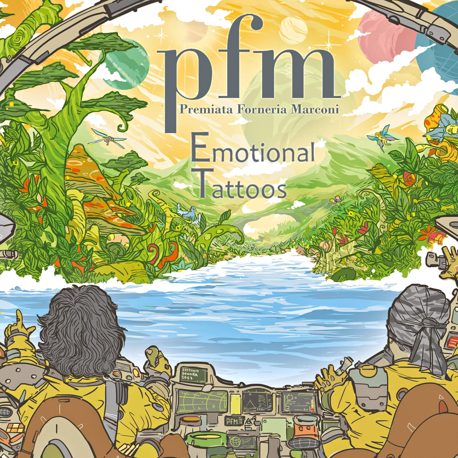 Premiata Forneria Marconi – Emotional Tattoos