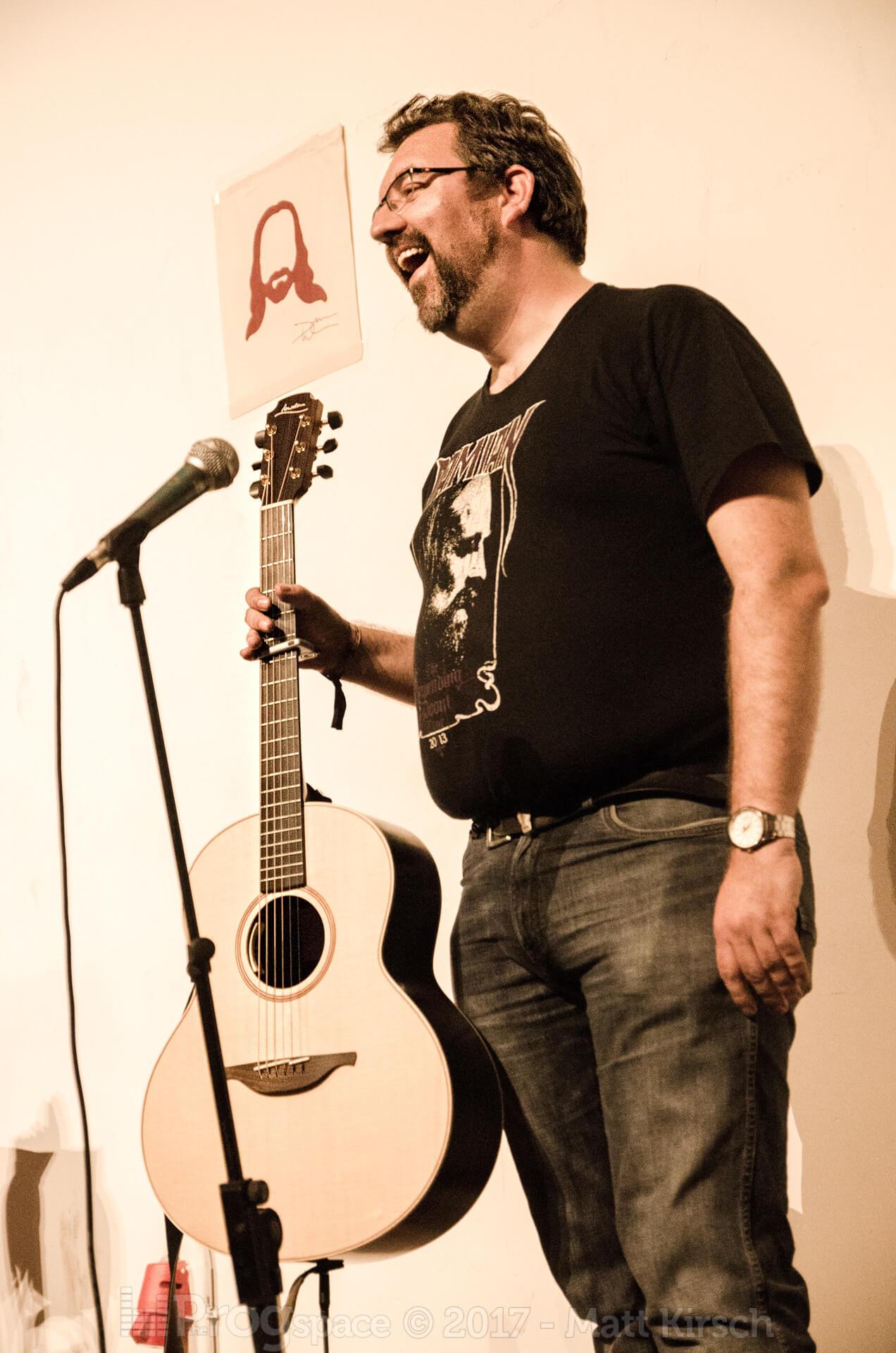 Damian Wilson at ProgPower 2017
