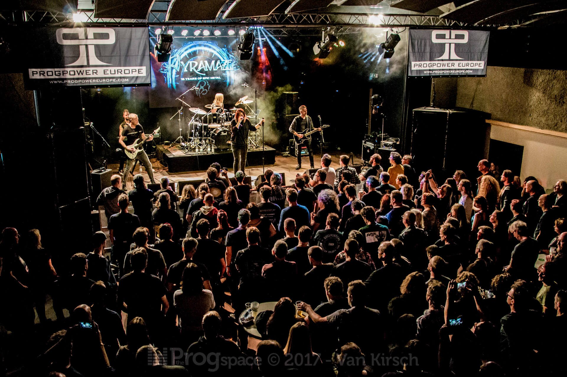 Pyramaze at ProgPower Europe 2017