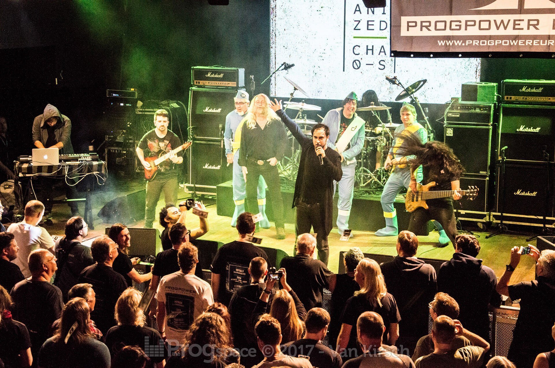 Organized Chaos at ProgPower Europe 2017