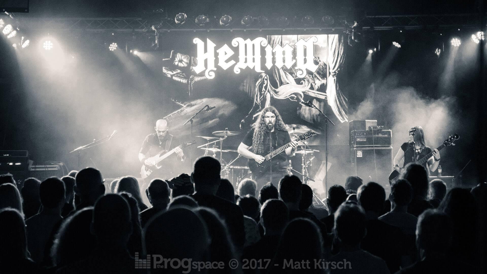 Hemina at Progpower Europe 2017