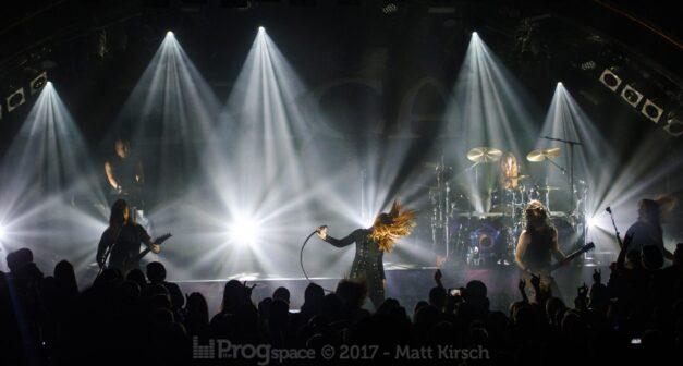 Epica live in Hamburg 13 November 2017