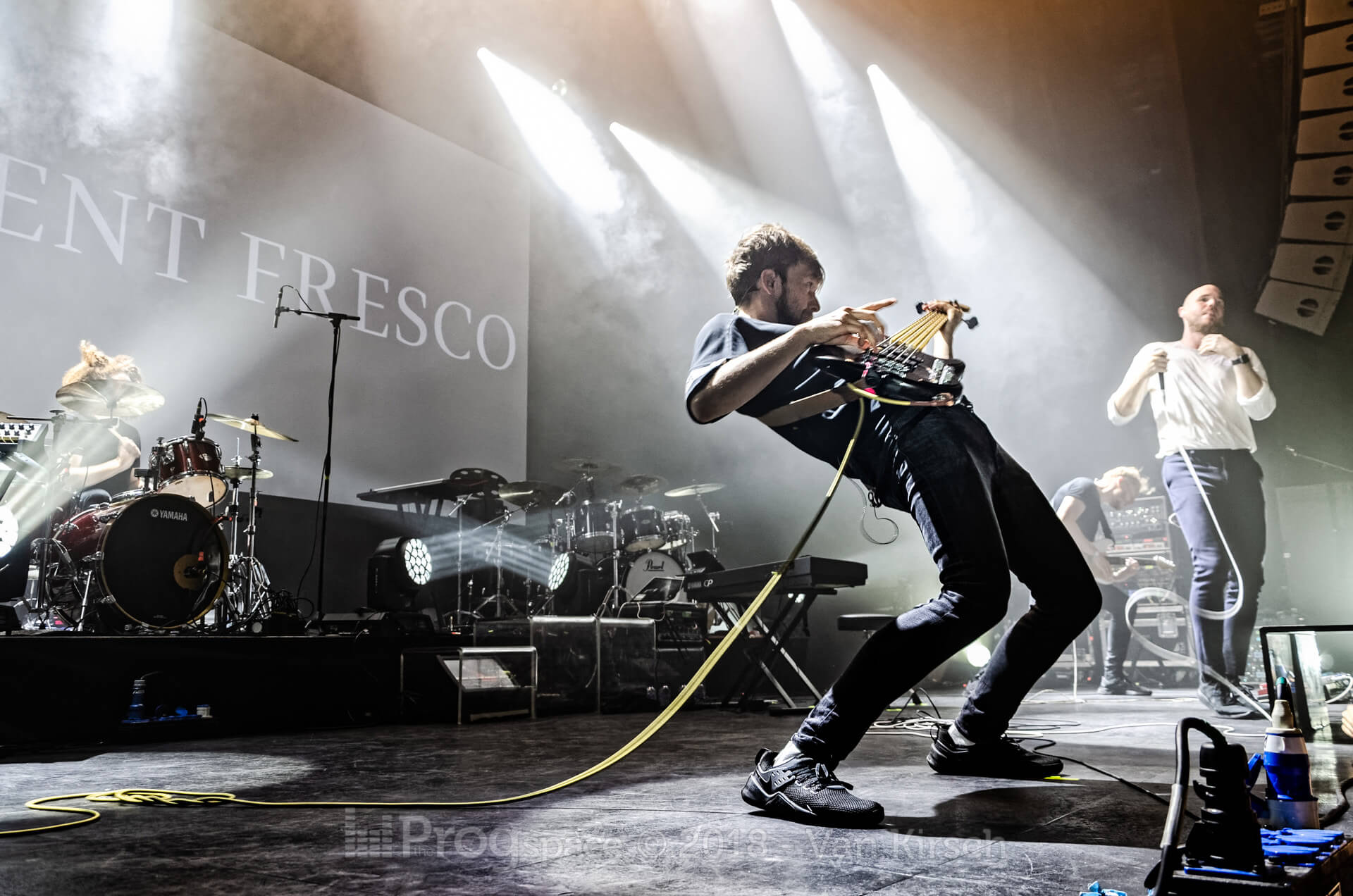 Agent Fresco live in Eindhoven – September 20, 2018