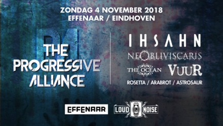 The Progressive Alliance, Eindhoven, NL. Sunday 4th of November 2018
