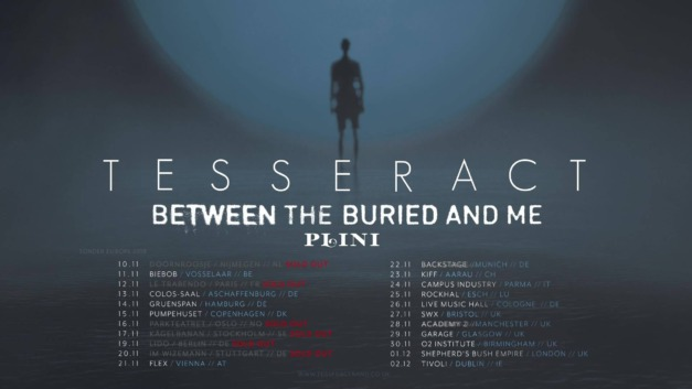 TesseracT, Between The Buried And Me & Plini in Munich, November 22 2018