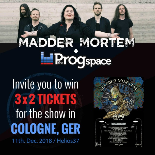 Win tickets for Madder Mortem in Cologne!