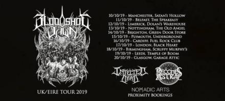 Bloodshot Dawn at The Old Angel, Nottingham, 13 October 2019