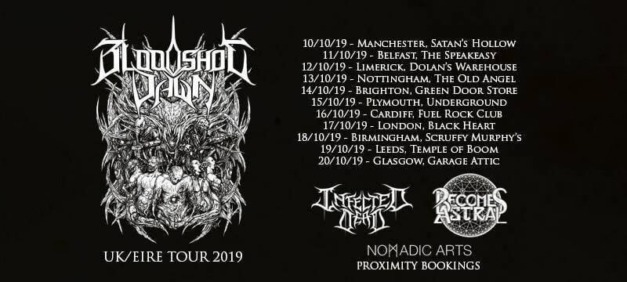 Bloodshot Dawn at The Old Angel, Nottingham, 13 October 2019