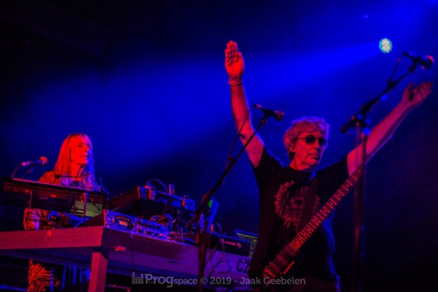 Steve Hillage with Gong at De Vooruit, Ghent, 5 December 2019