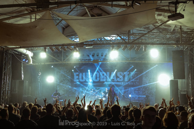 Shokran live at Euroblast 15, 28 September 2019