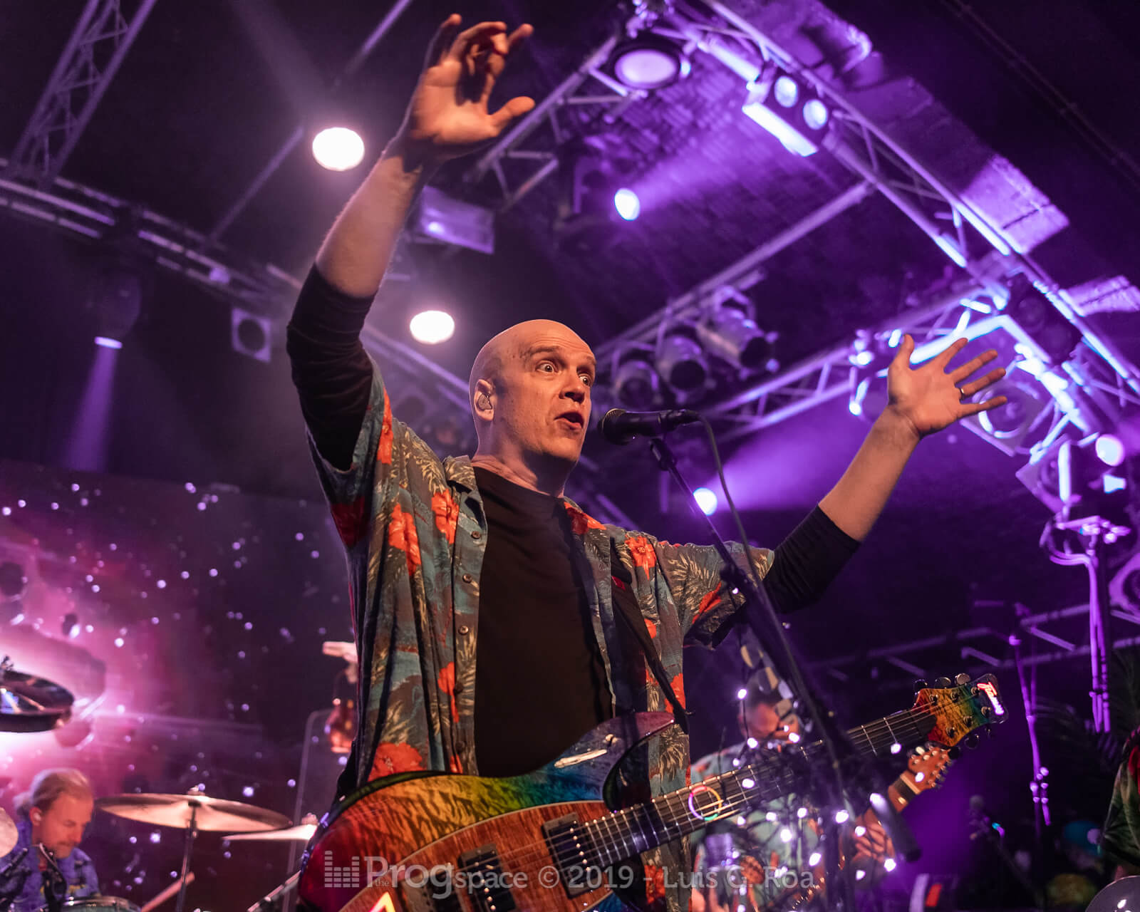 Devin Townsend live in Hamburg, 18 November 2019