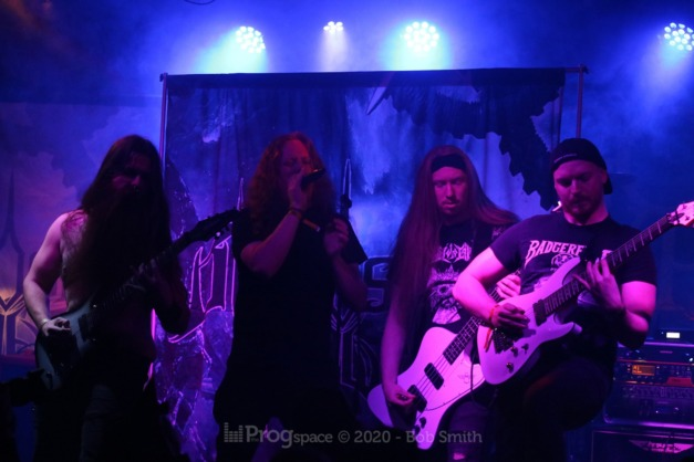 Frozen in Shadows at Rebellion Manchester, 16 February 2020