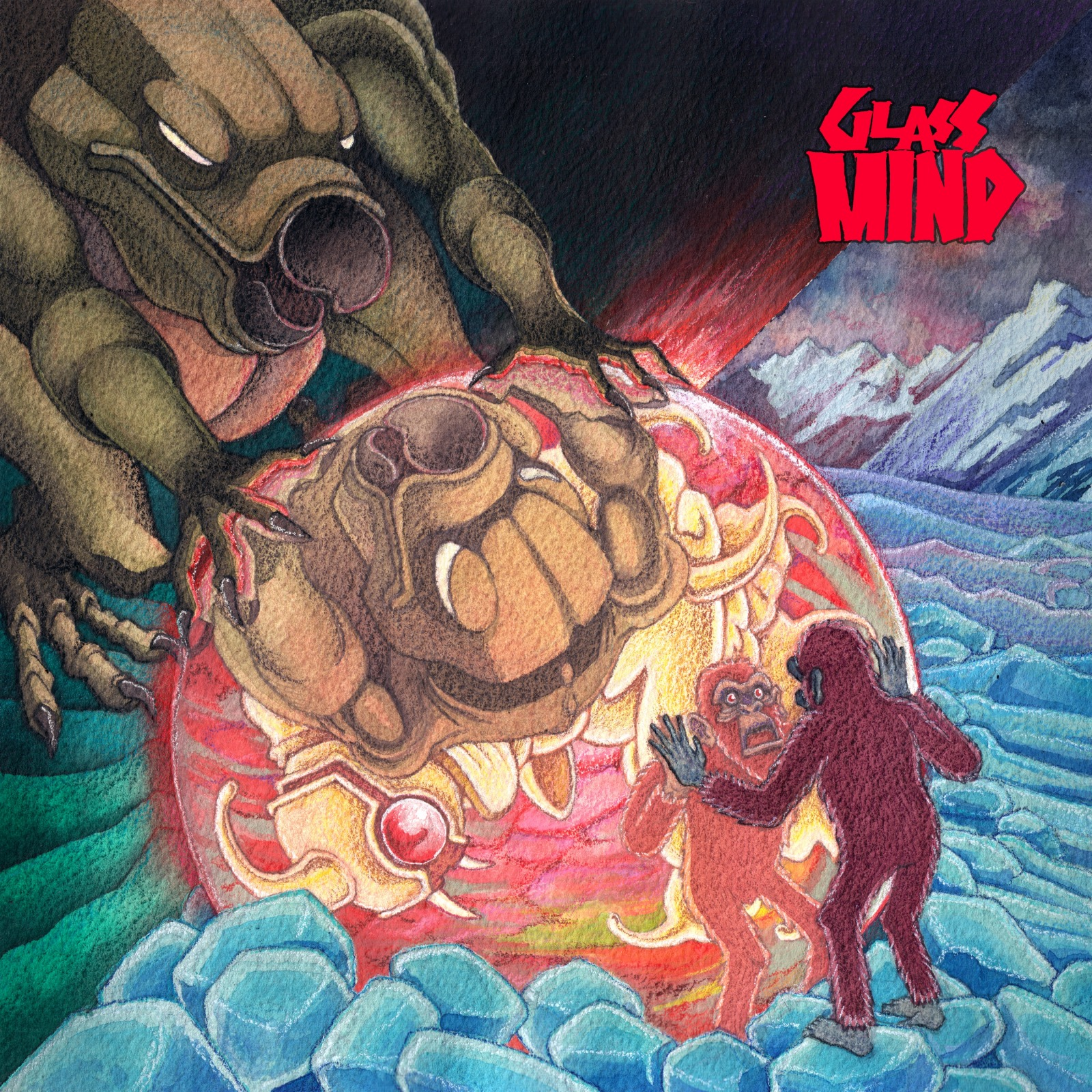 Glass Mind exclusive video premiere: 'Larva'