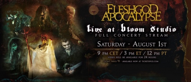 Fleshgod Apocalypse – Live at Bloom Studio