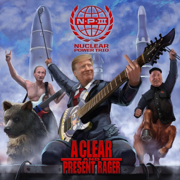 Nuclear Power Trio – A Clear and Present Rager