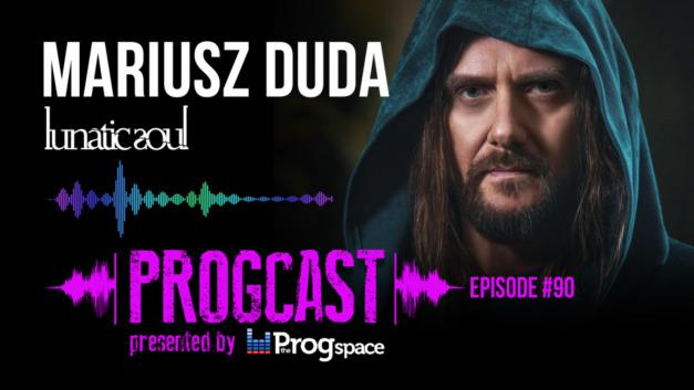 Progcast 090: Mariusz Duda (Lunatic Soul/Riverside)